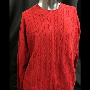 Beautiful cotton knitted sweater by Izod